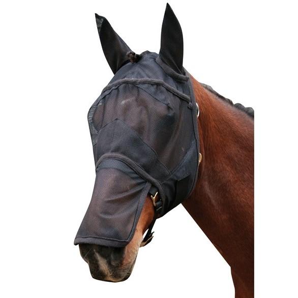 Harrys Horse Fluemaske med ører og mulebeskytter
