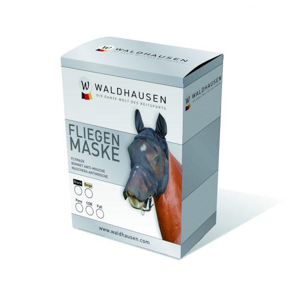 Waldhausen Fluemaske med ører og mulenet