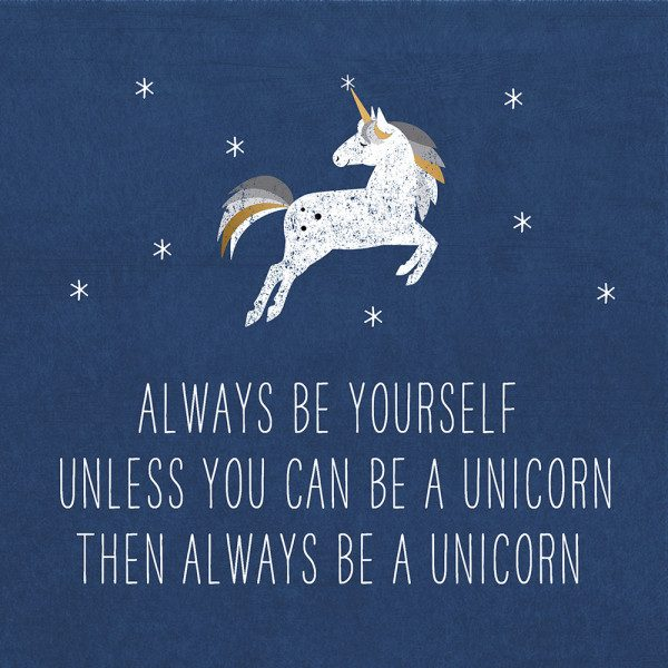 PFIFF Always Unicorn Servietter