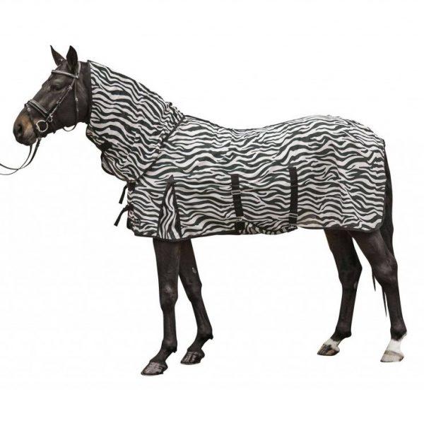 HKM Zebra Insektdækken inkl. hals